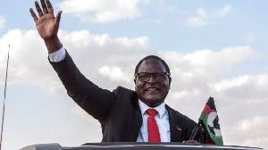 Malawi's President, Lazarus Chakwera
