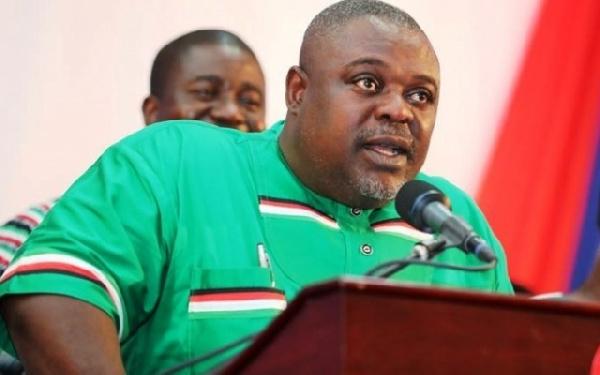 Koku Anyidoho is Deputy General Secretary of the opposition National Democratic Congress
