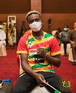 Samuel Takyi was Ghana's sole medalist from the 2020 Olympic Games in Tokyo, Japan
