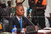 Deputy Attorney General and lawmaker for Tempane, Joseph Dindiok Kpemka