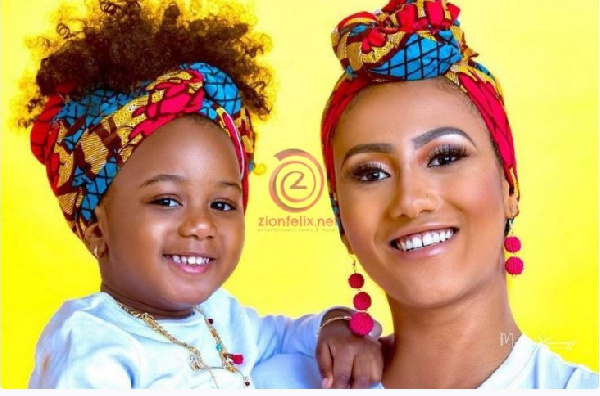 Hajia4Real also proceeded to flaunt her attractive sibling