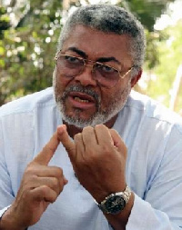 Jerry Rawlings, Former President