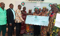 The donation was made by the Gbidukorza Steering Committee to the Hohoe Municipal Hospital