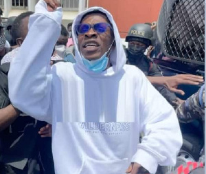 Dancehall artiste, Shatta Wale made his first appearance at the Accra circuit court