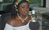 National Women's Organiser of NDC,  Dr Hanna Bissiw