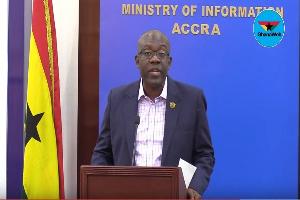 Minister of Information, Kojo Oppong Nkrumah