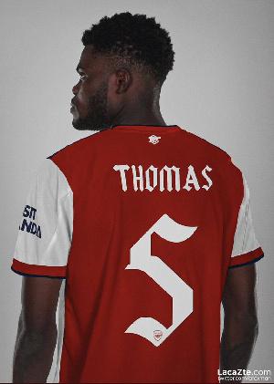 Arsenal midfielder Thomas Partey