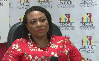 Ms Josephine Nkrumah, the Chairperson of the National Commission for Civic Education
