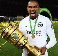 KP Boateng won DFB Pokal Cup with Frankfurt before his departure