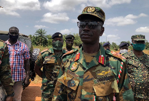 Brigadier General Abraham Yeboah Nsiah, General Officer Commanding (GOC) Southern Command