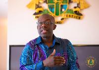 Information minister Kojo Oppong-Nkrumah