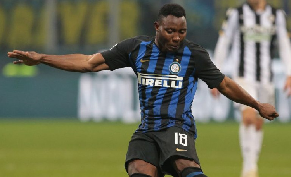 Kwadwo Asamoah trains separately towards recovery from knee injury