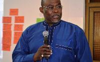 NDC Presidential aspirant, Dr. Ekwow Spio-Garbrah