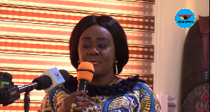 Minister for Tourism Creative Arts and Culture, Barbara Oteng Gyasi