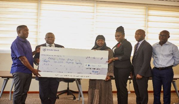 Stanbic Bank staff raise GHS80,000 to support 4-month-old baby with heart disease