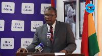 Dr. Charles Mensa, Institute of Economic Affairs boss