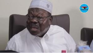 Sheikh I.C Quaye, the Chairman of the Ghana Hajj Board