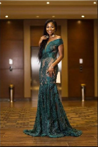 Edem Fairre was the standout best dressed on the red carpet