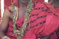 Nii Ansah Mankata VI, the Chief of Panpansokrokese