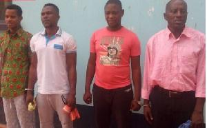 From left: Yussif Yakubu, Razak Abdul Shaibu, Banabas  Kayase and Opoku Agyeman