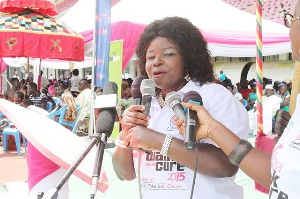 President and Founder of Breast Care International, Dr. Beatrice Wiafe Addai