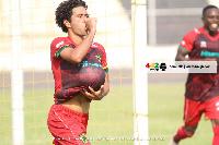Asante Kotoko midfielder, Fabio Gama Dos Santos