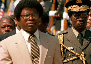 The first successful coup in Liberia was led by Samuel Doe who also died a very violent death