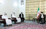 Qatari Deputy Prime Minister, Sheikh Mohammad visits  Iran's President-elect Ebrahim Raisi