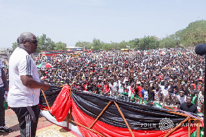John Mahama NDC Unity Walk 1