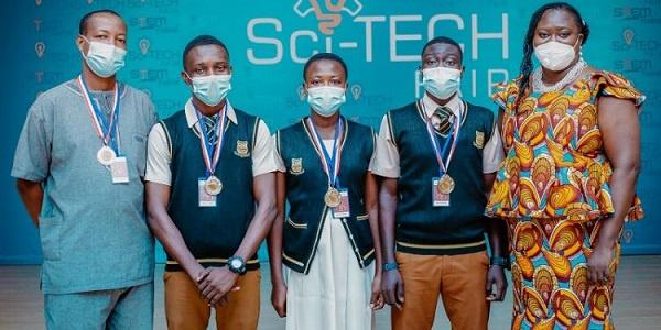 The winners, Obuasi SHTS, accrued 307 points
