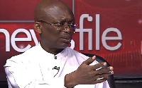 Abdul Malik Kweku Baako, Editor-in-Chief of the New Crusading Guide Newspaper
