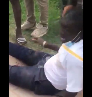 The man was shot by some unknown robbers