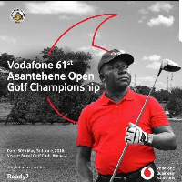 The Asantehene Open Golf Championship takes place at the Royal Golf course in Kumasi