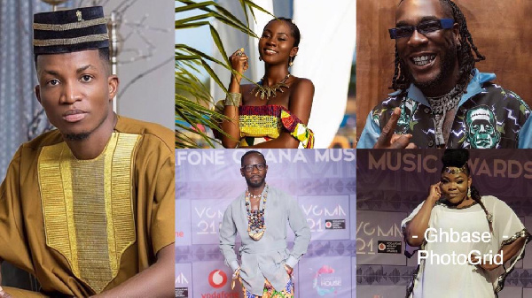Some of the winners of this years VGMA21