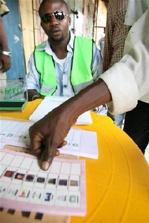 Thumbprint Vote
