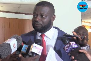 MP for Nsawam Adoagiri, Frank Annoh-Dompreh