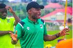PHOTOS: Dr Prosper Nerteh Ogum starts work as Kotoko coach