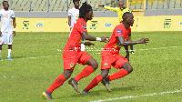 Asante Kotoko strikers Yacouba and Keita