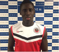 Samuel Owusu opened his account for FK Cucaricki Podgorica in their 1-1 stalemate against Mladost