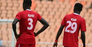 Ghanaian duo Nicholas Gyan and James Kotei