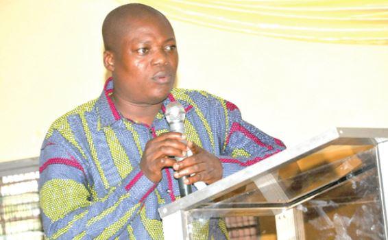 Head of UCC School of Business Finance Department, Professor John Gatsi