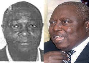 Adam Mahama (L) and Martin Amidu