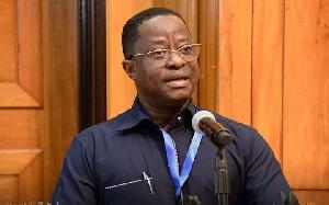 Minister for Railways Development, John Peter Amewu