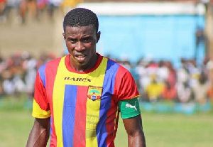 Former Hearts of Oak skipper Thomas Abbey