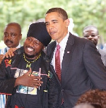 My CD was the only gift Barack Obama left Ghana with – Blakk Rasta