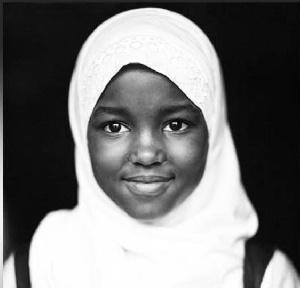 Tanzania African Girl Hijab
