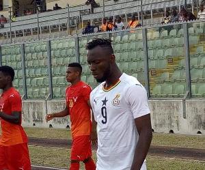 Black Meteors striker, Kwabena Owusu