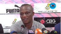 Black Stars head coach, James Kwasi Appiah