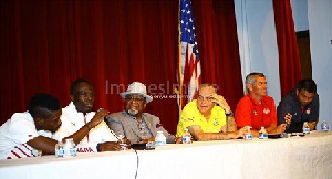 Black Stars hold press conference