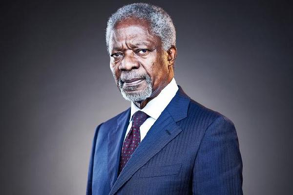 Former UN Secretary General, late Kofi Annan